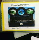 Magazine Donation Box